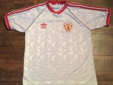 1991 Manchester United ECWC Adults Large Football Shirt